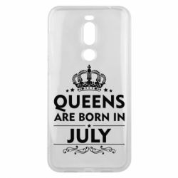 Чехол для Meizu X8 Queens are born in July - FatLine