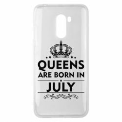 Чехол для Xiaomi Pocophone F1 Queens are born in July - FatLine