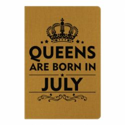 Блокнот А5 Queens are born in July - FatLine