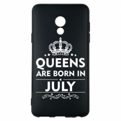 Чехол для Meizu 15 Lite Queens are born in July - FatLine