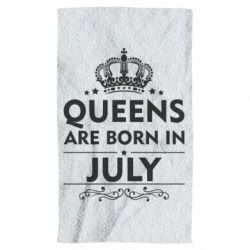Полотенце Queens are born in July - FatLine