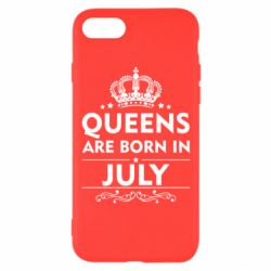 Чехол для iPhone 8 Queens are born in July - FatLine