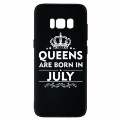 Чехол для Samsung S8 Queens are born in July - FatLine