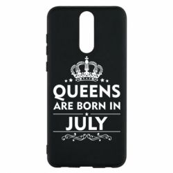 Чехол для Huawei Mate 10 Lite Queens are born in July - FatLine
