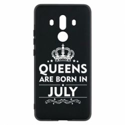 Чехол для Huawei Mate 10 Pro Queens are born in July - FatLine