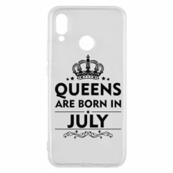 Чехол для Huawei P20 Lite Queens are born in July - FatLine