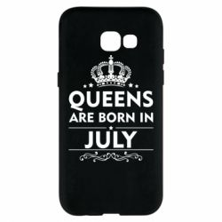 Чехол для Samsung A5 2017 Queens are born in July - FatLine