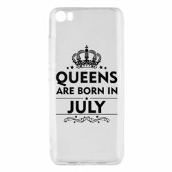 Чехол для Xiaomi Xiaomi Mi5/Mi5 Pro Queens are born in July - FatLine