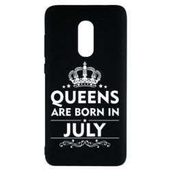Чехол для Xiaomi Redmi Note 4 Queens are born in July - FatLine
