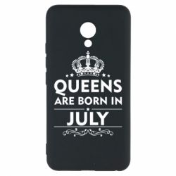 Чехол для Meizu M5 Queens are born in July - FatLine