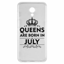 Чехол для Meizu M6s Queens are born in July - FatLine