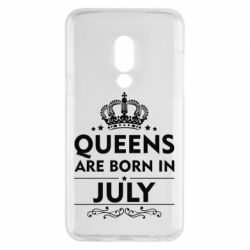 Чехол для Meizu 15 Queens are born in July - FatLine