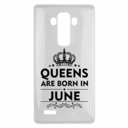 Чехол для LG G4 Queens are born in June - FatLine