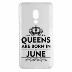 Чехол для Meizu 15 Plus Queens are born in June - FatLine