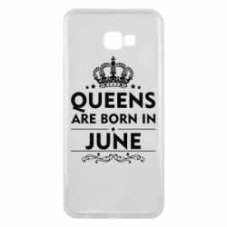 Чехол для Samsung J4 Plus 2018 Queens are born in June - FatLine