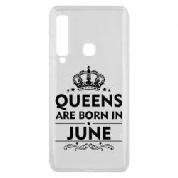 Чехол для Samsung A9 2018 Queens are born in June - FatLine