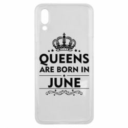 Чехол для Meizu E3 Queens are born in June - FatLine