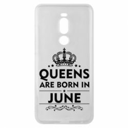 Чехол для Meizu Note 8 Queens are born in June - FatLine