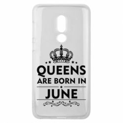Чехол для Meizu V8 Queens are born in June - FatLine