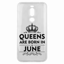 Чехол для Meizu X8 Queens are born in June - FatLine