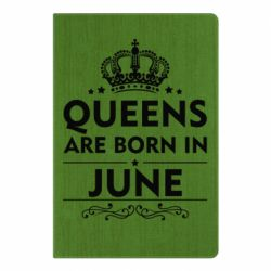 Блокнот А5 Queens are born in June - FatLine