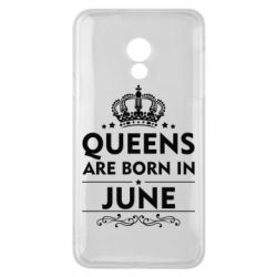 Чехол для Meizu 15 Lite Queens are born in June - FatLine