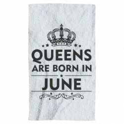 Полотенце Queens are born in June - FatLine