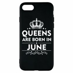 Чехол для iPhone 8 Queens are born in June - FatLine