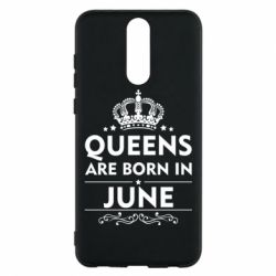 Чехол для Huawei Mate 10 Lite Queens are born in June - FatLine