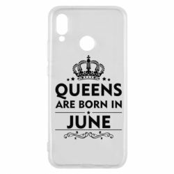 Чехол для Huawei P20 Lite Queens are born in June - FatLine