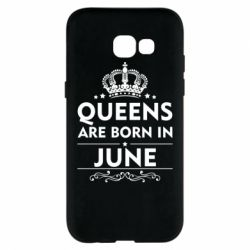 Чехол для Samsung A5 2017 Queens are born in June - FatLine