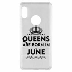 Чехол для Xiaomi Redmi Note 5 Queens are born in June - FatLine