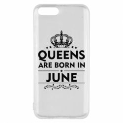Чехол для Xiaomi Mi6 Queens are born in June - FatLine