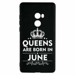Чехол для Xiaomi Mi Mix 2 Queens are born in June - FatLine