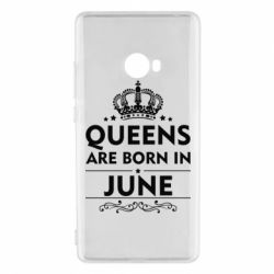 Чехол для Xiaomi Mi Note 2 Queens are born in June - FatLine