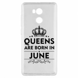Чехол для Xiaomi Redmi 4 Pro/Prime Queens are born in June - FatLine