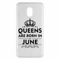 Чехол для Meizu M6 Queens are born in June - FatLine