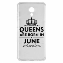 Чехол для Meizu M6s Queens are born in June - FatLine