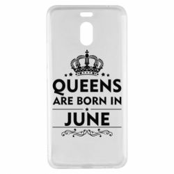 Чехол для Meizu M6 Note Queens are born in June - FatLine