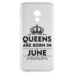 Чехол для Meizu Pro 6 Queens are born in June - FatLine