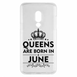 Чехол для Meizu 15 Queens are born in June - FatLine