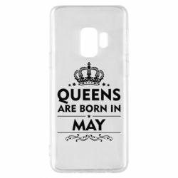 Чехол для Samsung S9 Queens are born in May - FatLine