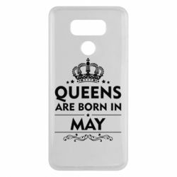 Чехол для LG G6 Queens are born in May - FatLine
