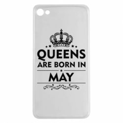 Чехол для Meizu U20 Queens are born in May - FatLine