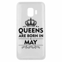 Чехол для Samsung J2 Core Queens are born in May - FatLine