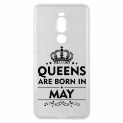 Чехол для Meizu Note 8 Queens are born in May - FatLine