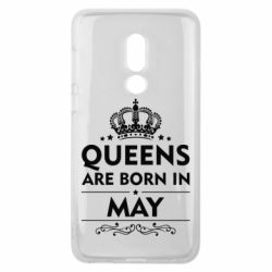 Чехол для Meizu V8 Queens are born in May - FatLine