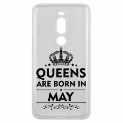Чехол для Meizu V8 Pro Queens are born in May - FatLine