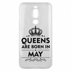 Чехол для Meizu X8 Queens are born in May - FatLine