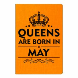Блокнот А5 Queens are born in May - FatLine
